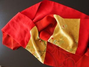 Kimono Scarf - RED
