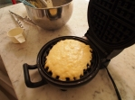 Waffle baking