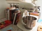 Mixer & Cookbooks