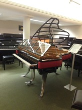 'Winged' piano
