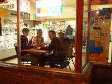 Boys at Doughnut Sho0